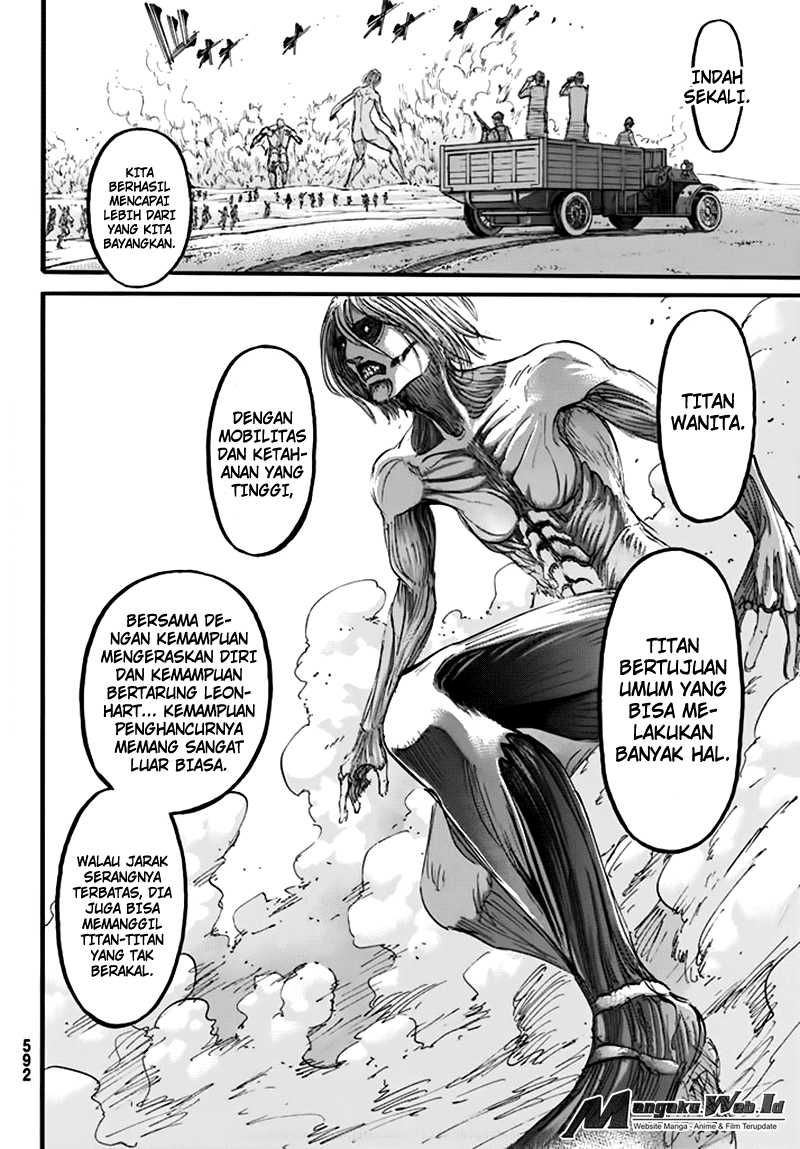Shingeki no Kyojin – Chapter 96 : Pembohong2