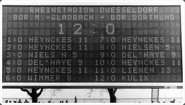 Borussia Dortmund Mönchengladbach 12-0