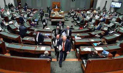 Australia is investigating piracy targeting Parliament