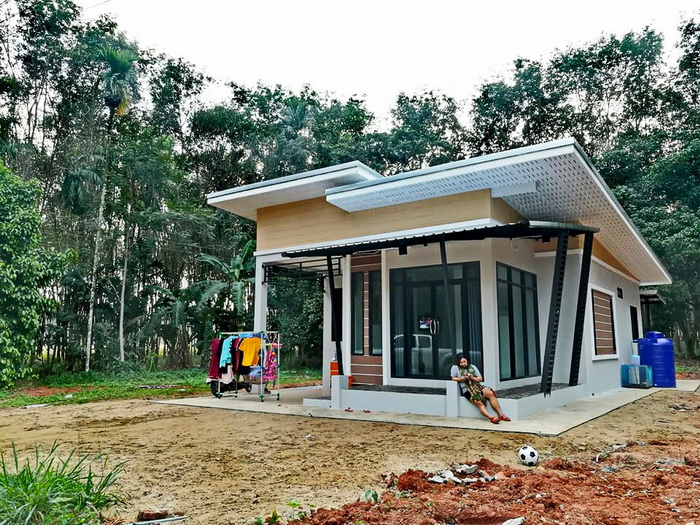 Single Storey House Design with 2-3 Bedrooms