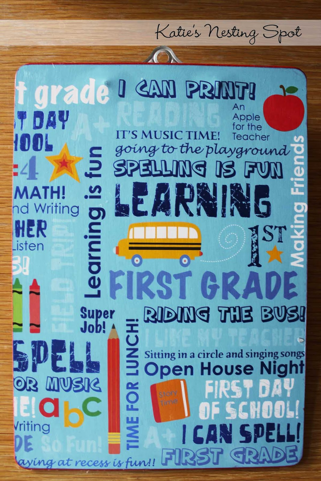 Cute Craft For First Graders End Of Year