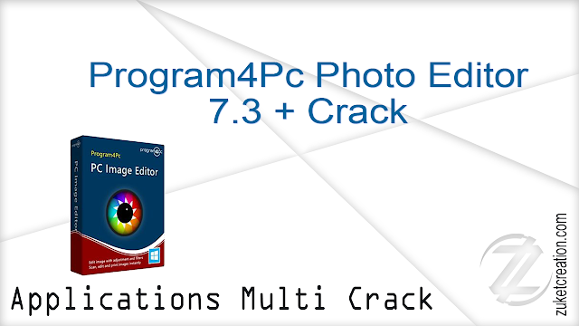 Program4Pc Photo Editor 7.3 + Crack
