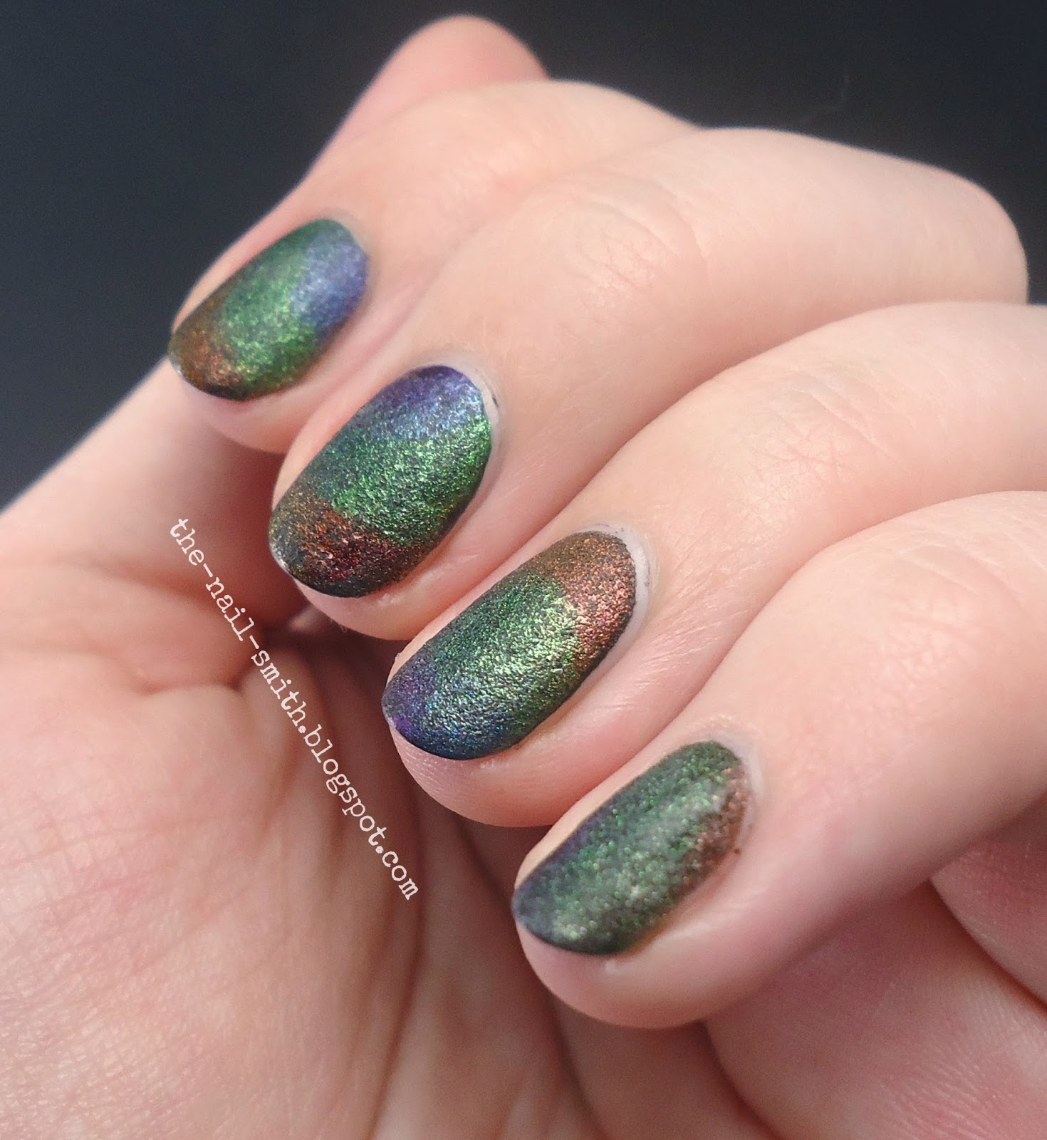 The Nail Smith: Oil Slick, I Guess?
