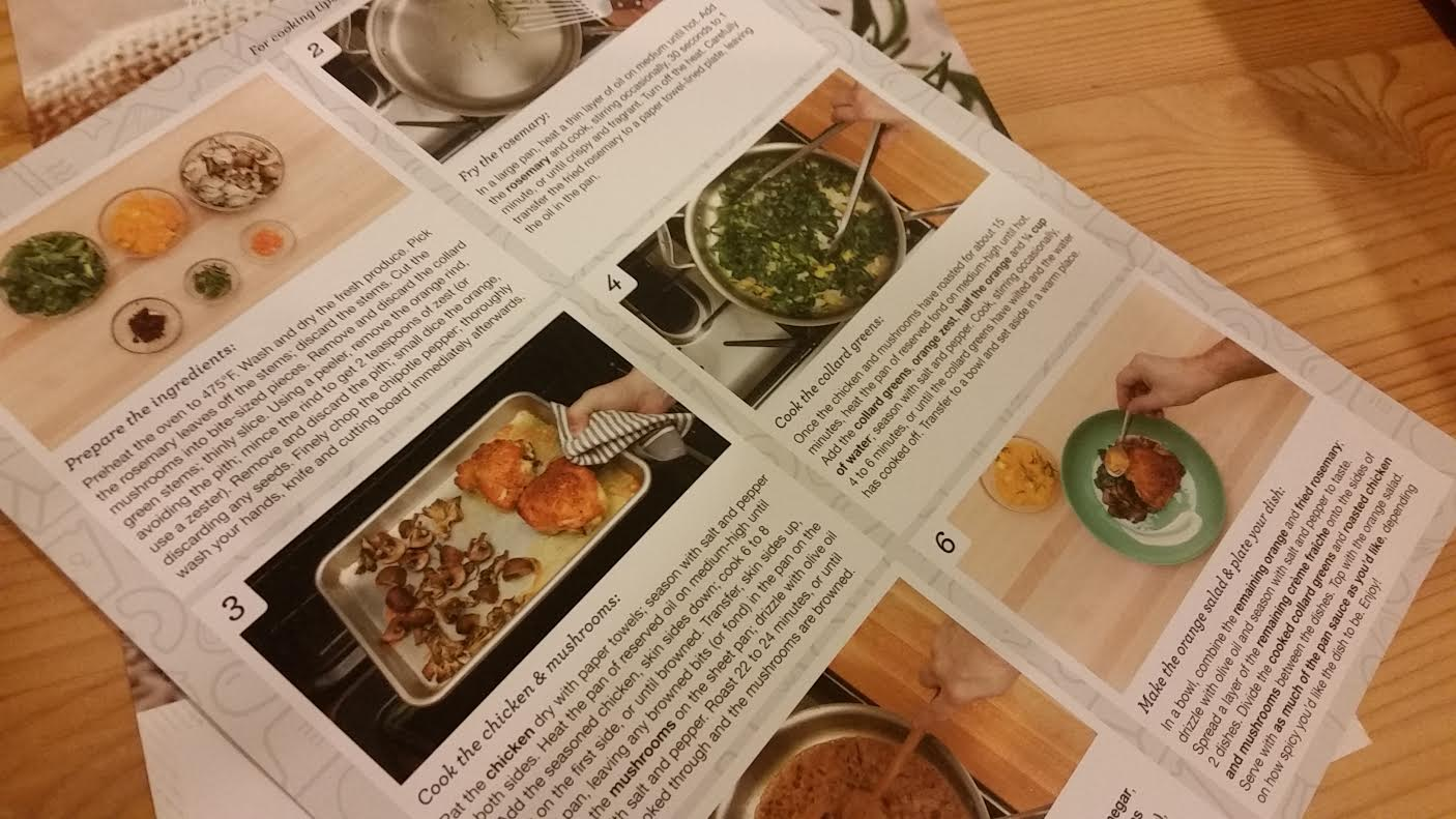 Blue apron promo code - The Instructions