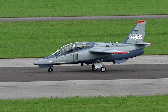 Leonardo's new M-345 jet trainer certified and ready for global market