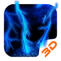 Lightning Storm Tech 3D Theme Apk free for Android