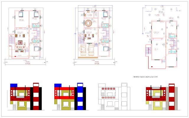 House Duplex DWG
