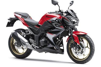 Warna Baru facelift Kawasaki Z250