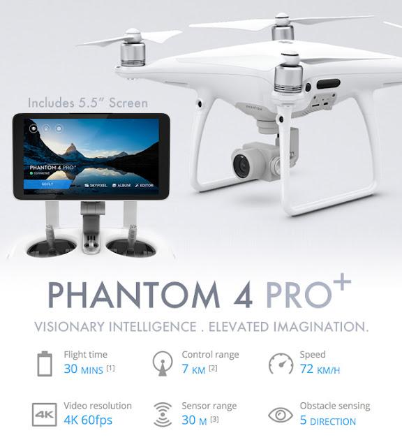 22 Fitur Canggih Yang di Miliki DJI Phantom 4 Pro