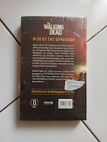 Back Cover The Walking Dead: Rise of The Governor