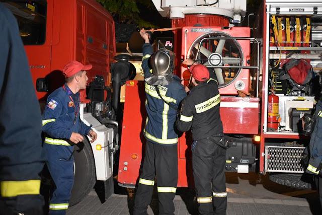 Πρέβεζα: Άσκηση ετοιμότητας της Πυροσβεστικής Υπηρεσίας Πρέβεζας, την Παρασκευή 5 Απριλίου