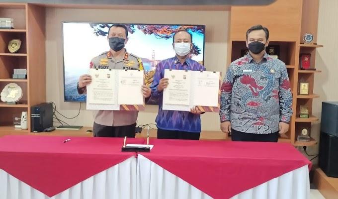 Lakukan MoU dengan Ombudsman, Kapolda Banten: Kami Berkomitmen Tingkatkan Pelayanan Publik