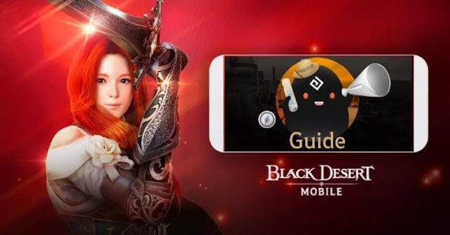 Games Black Desert Mobile : Guide, Strategi Dan Cara Untuk Pemula