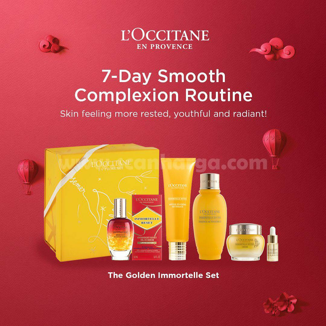 L'Occitane presents a wide Selection Of Everyday Treatment!