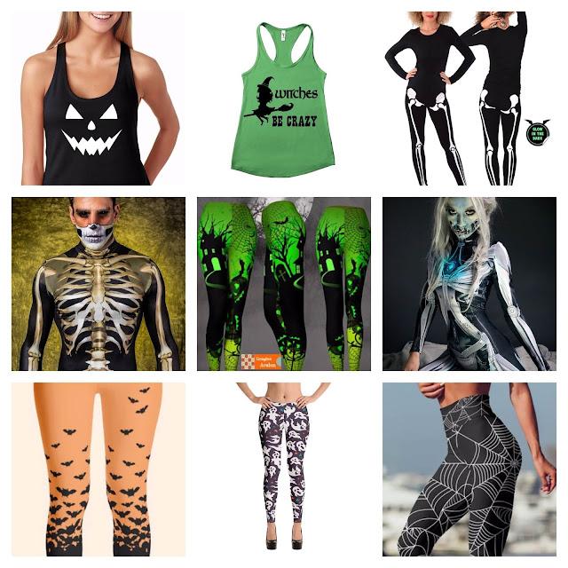 Halloween-leggings