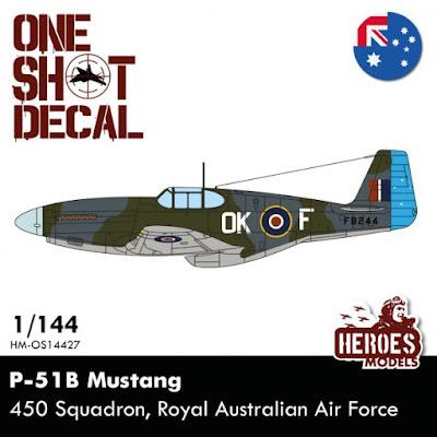 P-51B | 450 Squadron RAF