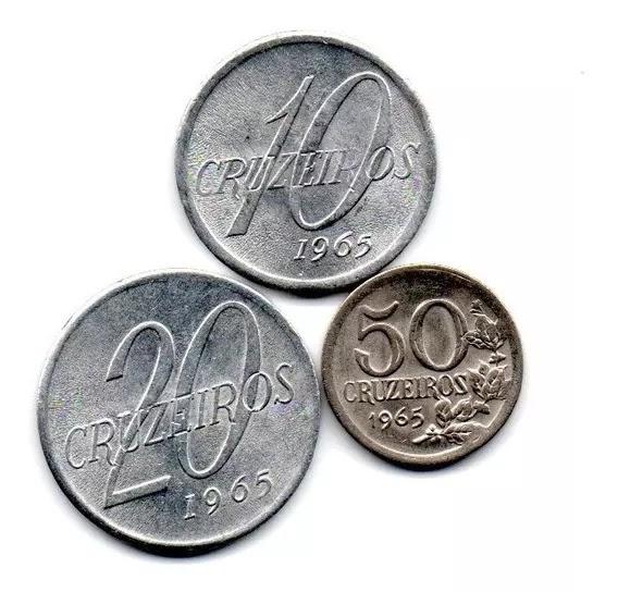 CRUZEIRO Cr$  – Moedas emitidas de 1965 a 1967
