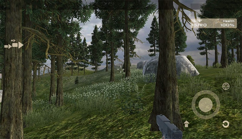 تحميل لعبة fps الأكثر من رائعة After dark - zombie apocalypse للاندرويد