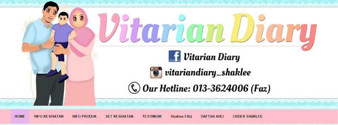 Tempahan Design Blog Vitarian Diary
