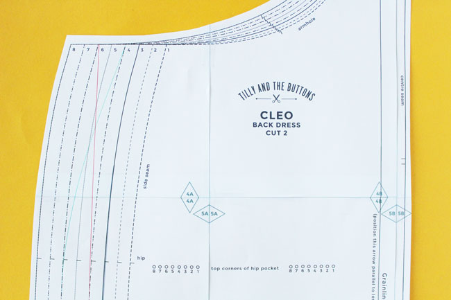 Sewing the Cleo dungaree dress - Sizing and fitting