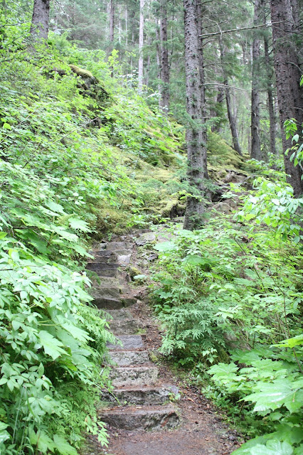 Chilkoot Trail near Skagway, Alaska