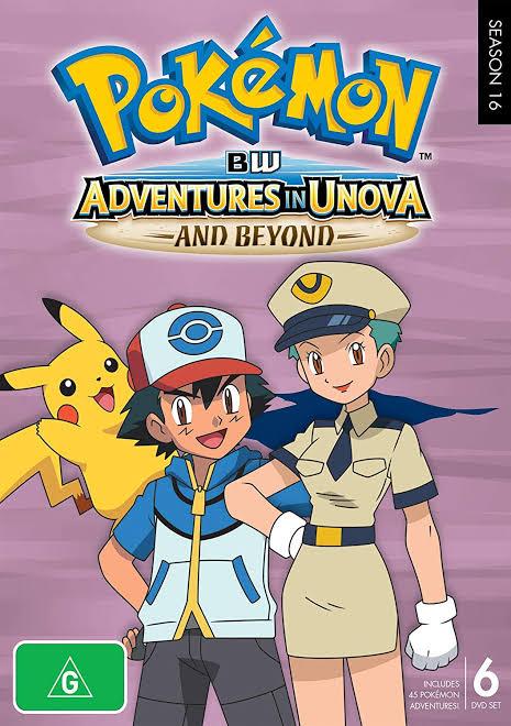 Pokemon Season 16 bw Adventures in unova iamges in H.D