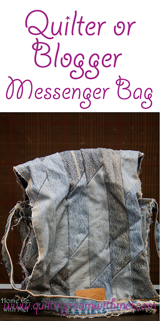 quilt blogger messenger bag