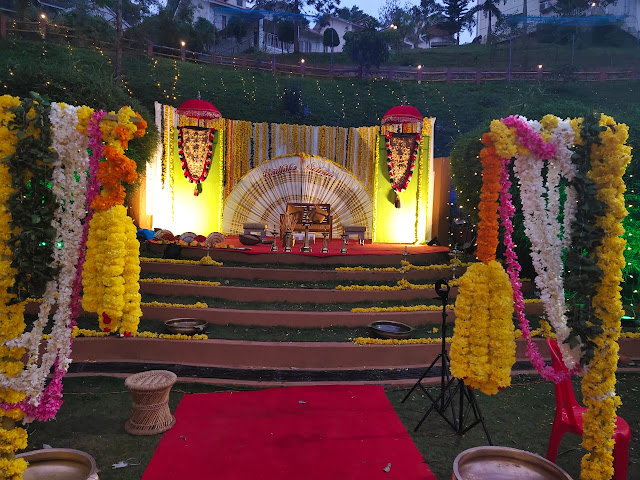 Kerala Style Stage Decoration works call 8943906399