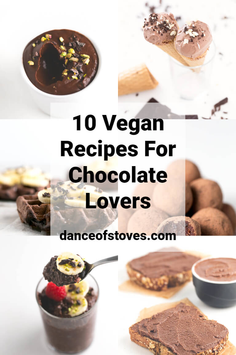 10 Vegan Recipes For Chocolate Lovers
