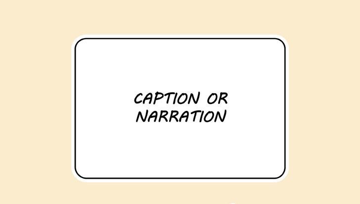 Gelembung narator manga