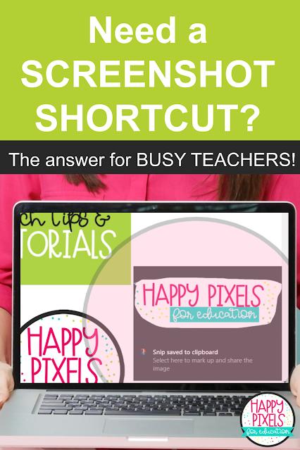 how to screenshot for teachers
