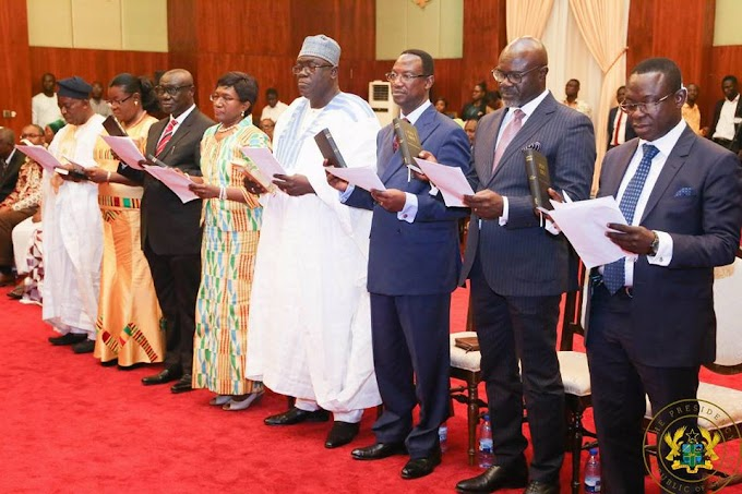 Put Interests of Ghana First While on Duty Tour - President Akufo Addo to 8 New Ghanaian Envoys