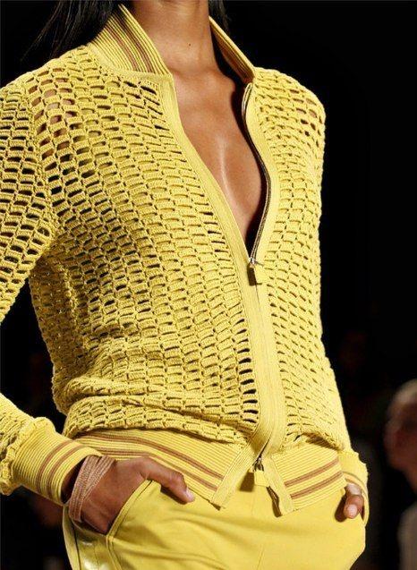 sweter szydełkiem z opisem
