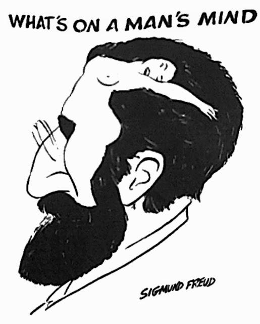 Карикатура нга Зигмунда Фрейда