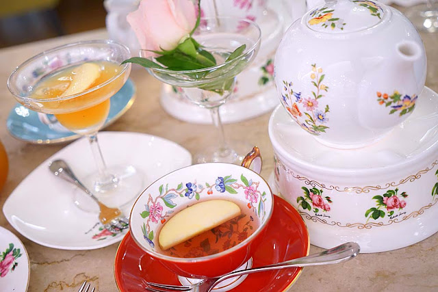 DSC01035 - 熱血採訪│古典玫瑰園台中大遠百店,悠閒下午茶時光,藏匿在百貨公司私密專櫃之中