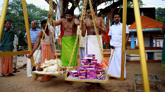 Thulabaram With Munch Chocolate Offering