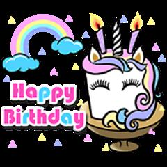 Happy Birthday Cakes Collection