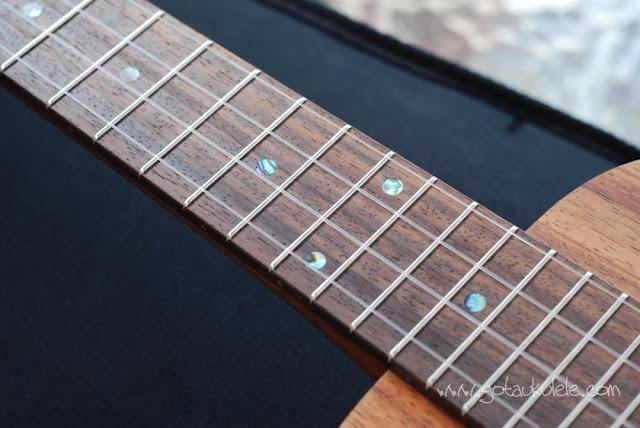Kanile'a K1 Tenor Ukulele fingerboard