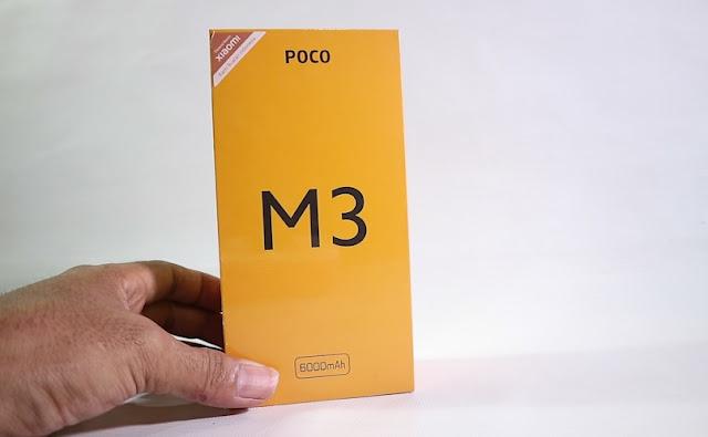 Harga dan Spesifikasi Lengkap Poco M3 Indonesia - HP Termurah varian 6 GB RAM