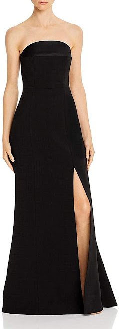 Quality Black Strapless Maxi Dresses for Women