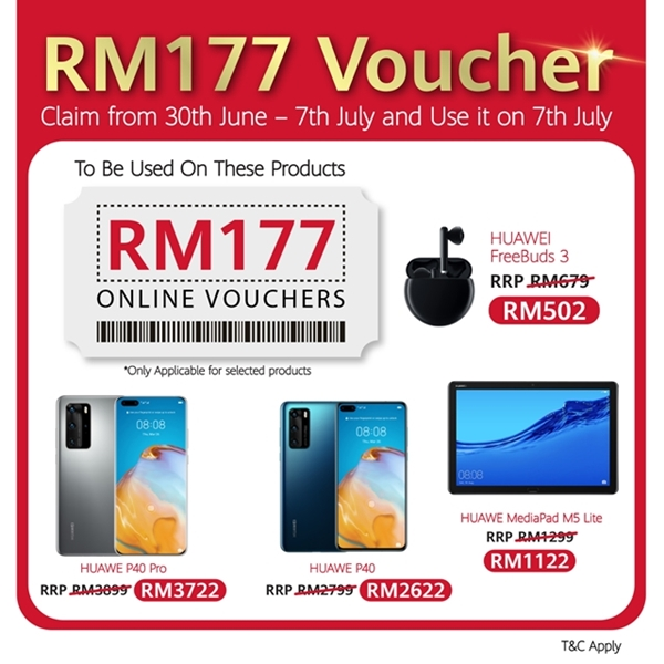 HUAWEI 7.7 Mid-Year Sales, Save More, huawei nova 7, Huawei, Huawei malaysia, tech, lifestyle
