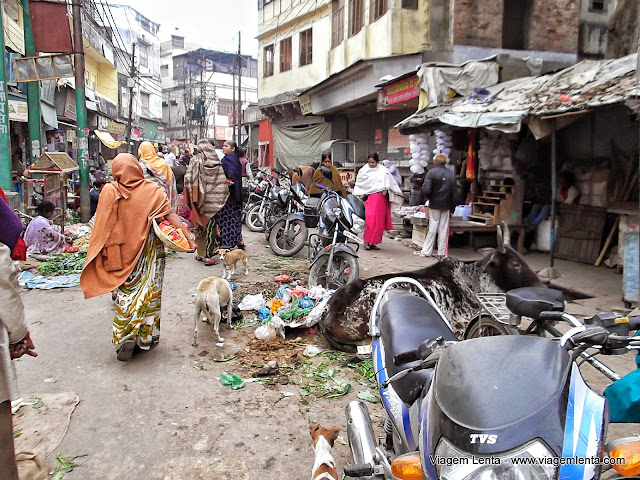 Sujeira: padrão de Varanasi