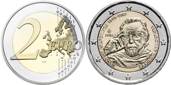 Greece 2 euro 2019 - Manolis Andronikos