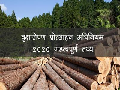 मध्य प्रदेश वृक्षारोपण प्रोत्साहन अधिनियम 2020