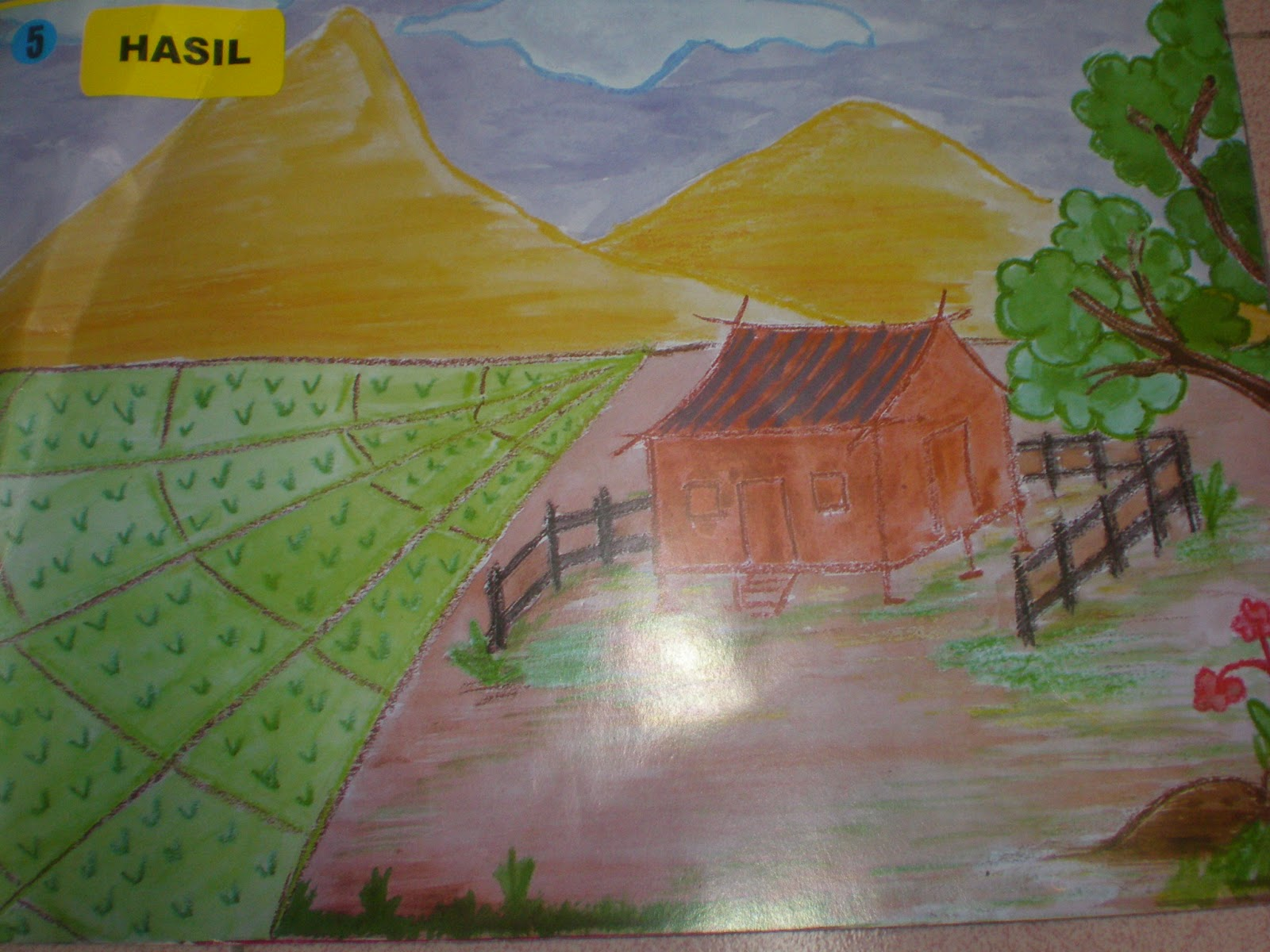 gambar pemandangan kampung - photo #16