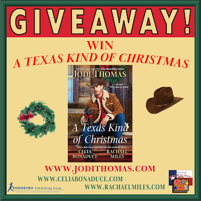 A Texas Kind of Christmas giveaway graphic