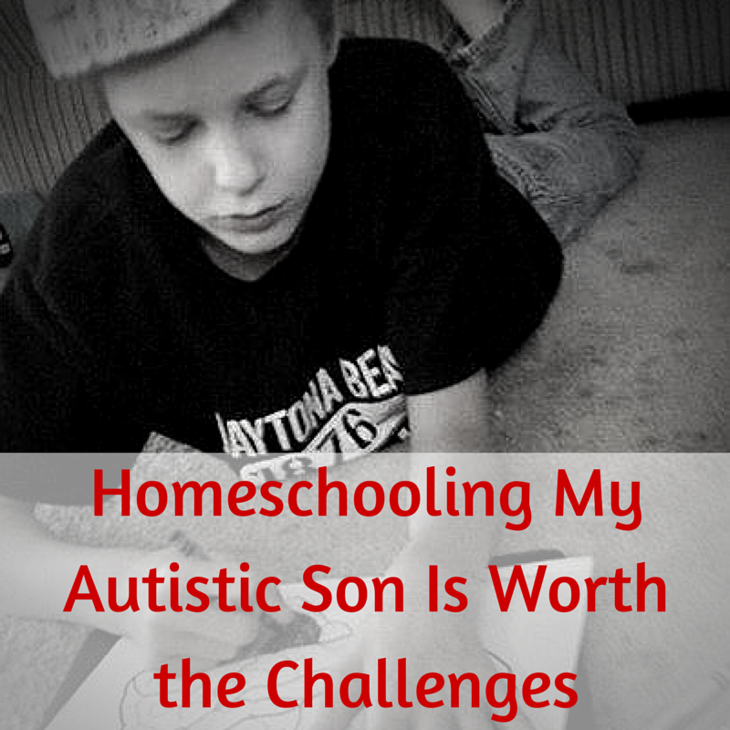 A new homeschool mom discovers the rewards are worth the challenges of homeschooling her son who has autism.