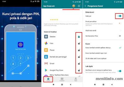 aplikasi lock fingerprint android