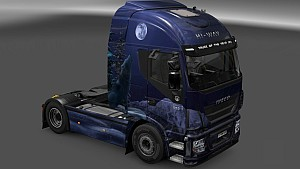 Winter Wolves skin for all trucks
