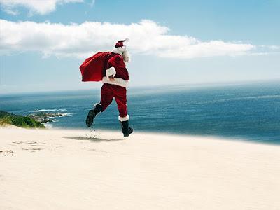 photo drôle de père Noël